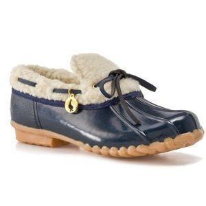 SPORTO Pam Rubber Duck Boots-Blue-9M